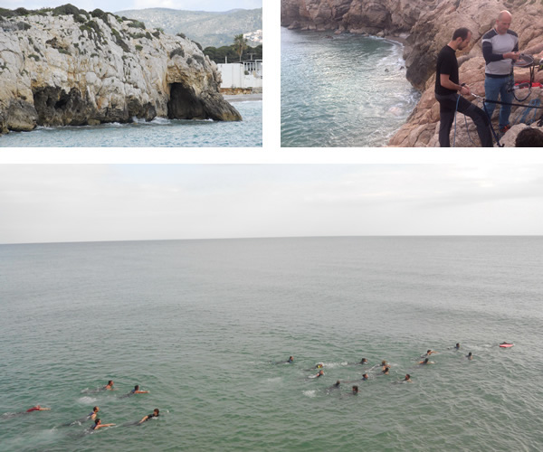 Gegant Cave (Sitges, Spain) Integrated Graduate and Master course teaching